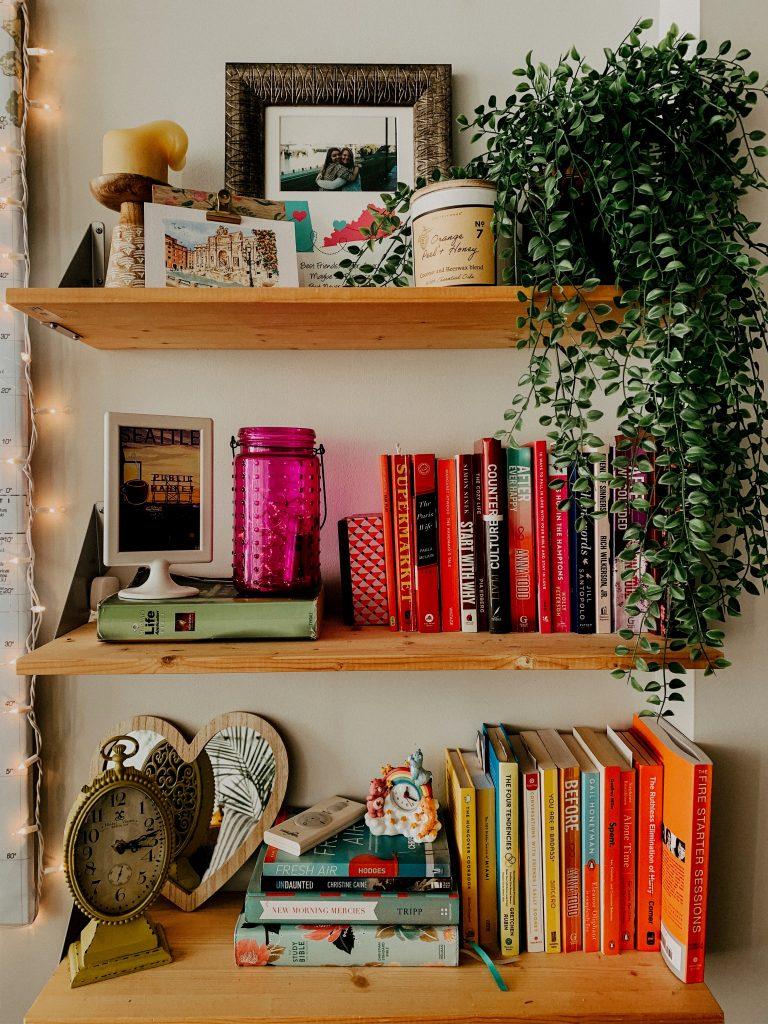 Bookshelf Color Code Inspiration