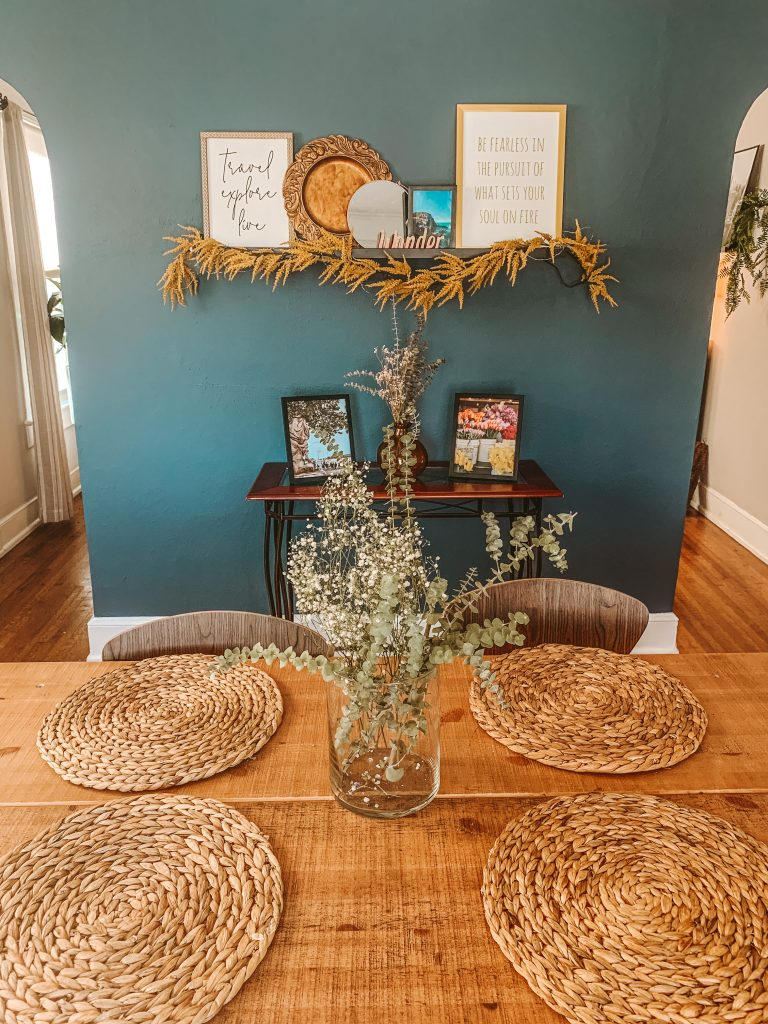 Thrifted tablescape